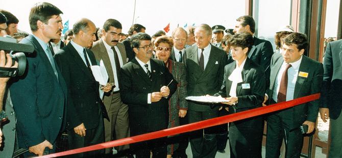 Mercedes-Benz Türk Aksaray Kamyon Fabrikası Açılışı (1986)
