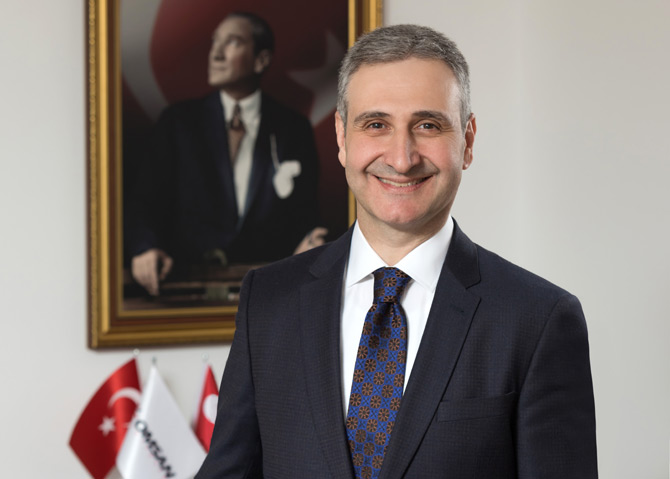 Omsan Lojistik Genel Müdürü Dr. A. Bülent Sabuncu
