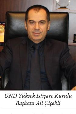 UND Yüksek İstişare Kurulu Başkanı Ali Çiçekli