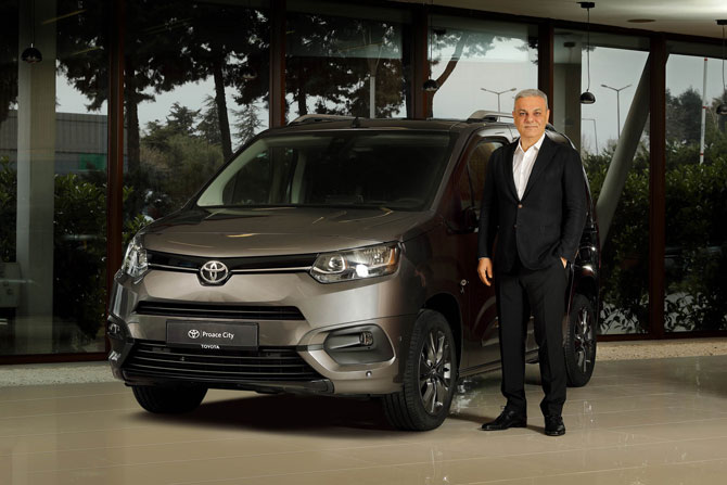 Toyota Türkiye Pazarlama ve Satış A.Ş. CEO'su Ali Haydar Bozkurt
