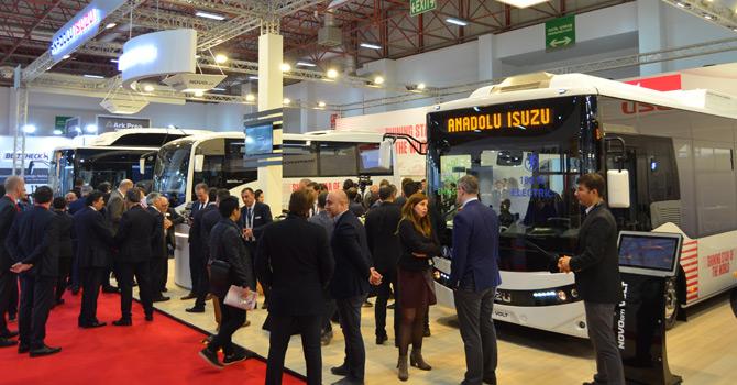 Yüzde 100 elektrikli Isuzu Novociti Volt Busworld'e damgasını vurdu
