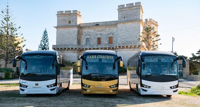 Anadolu Isuzu Visigo RHD Araçlarını Malta'ya Teslim Etti