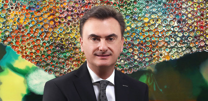 Borusan Holding Grup CEO'su Erkan Kafadar