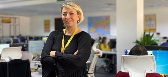 DHL Freight Türkiye Satış Pazarlama ve Müşteri Hizmetleri Direktörü Çağla Mutluer