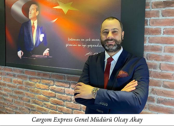 Cargom Express Genel Müdürü Olcay Akay