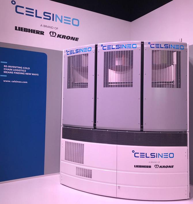 Celsineo ilk kez Münih Transport Logistic Fuarı'nda Satışa Sunulacak