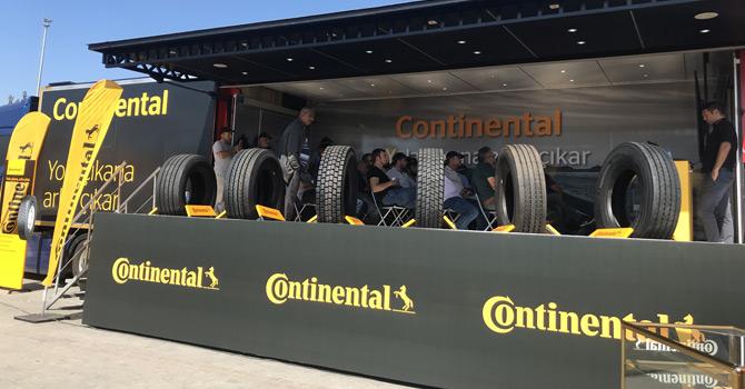 Continental Kamyon Sürücüleri İle Buluşuyor