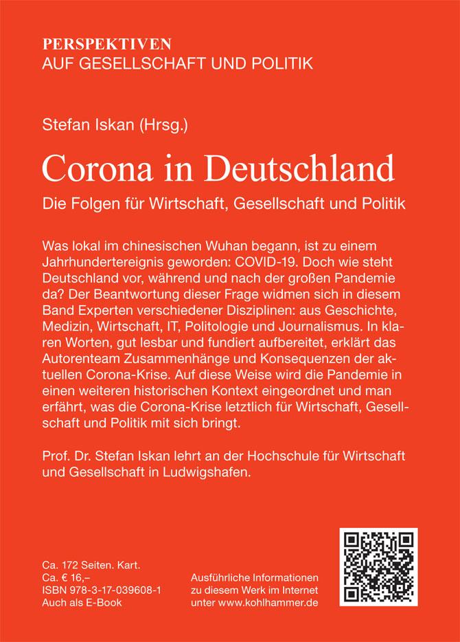 """KargoHaber dergimizin de danışman kadrosunda yer alan Prof. Dr. Stefan Iskan'ın """"Almanya'da Korona - Ekonomi toplum ve siyasete etkileri"""" kitabı yayınlandı."""