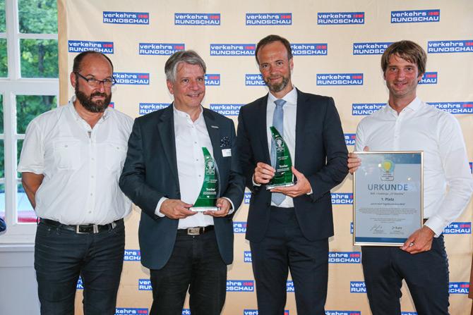 DAF CF Electric'e Yeşil Kamyon Ödülü