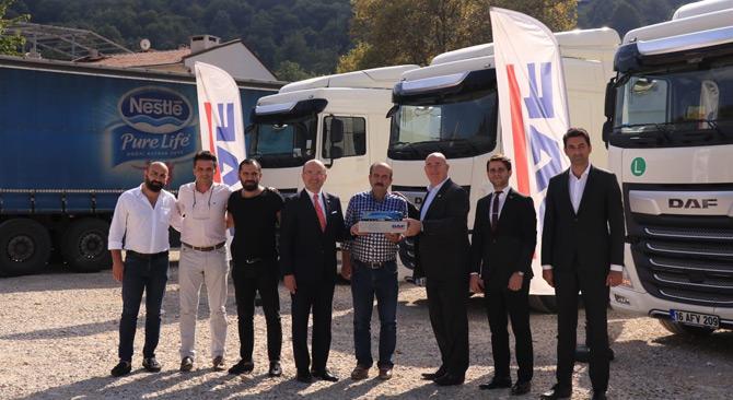 DAF Trucks Türkiye - BAV İşbirliğiyle Özgüven'e 3 Çekici
