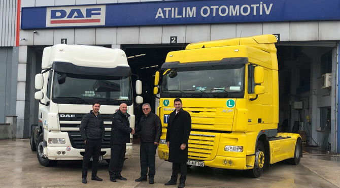 DAF Trucks 2019'a Hatay Bayisi Atılım'la Girdi