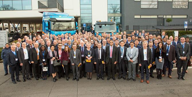 """Daf Trucks """"İnovasyon"""" Temalı Uluslararası Bayi Toplantısı Düzenledi"""