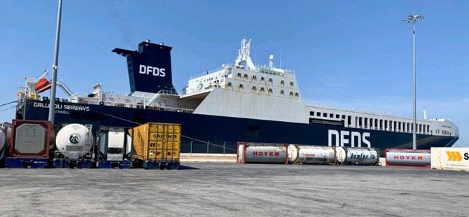 DFDS Akdeniz İş Birimi Patras-Trieste Seferlerine Başladı