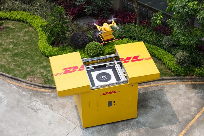 DHL Drone İle Şehirlerde Dağıtım Hizmetini Başlattı