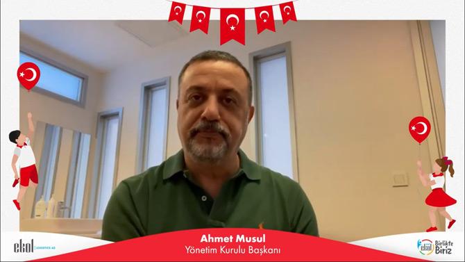 Ekol Yönetim Kurulu Başkanı Ahmet Musul