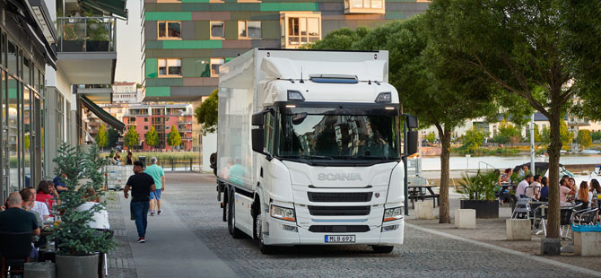 Scania Elektrikli Kamyon Serisi Yola Çıkıyor