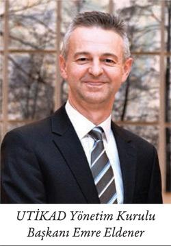 UTİKAD Yönetim Kurulu Başkanı Emre Eldener