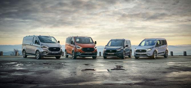 Ford Yeni Modelleri Active ve Trial İle Ticari Araçta Yeni Bir Alana Açılıyor