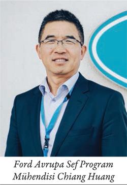 Ford Avrupa Sef Program Mühendisi Chiang Huang