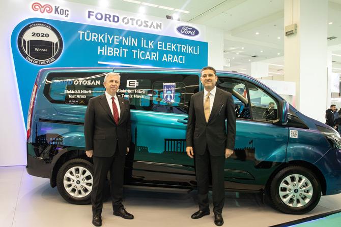 Ankara Büyükşehir Belediye Başkanı Mansur Yavaş - Ford Otosan Genel Müdürü Haydar Yenigün