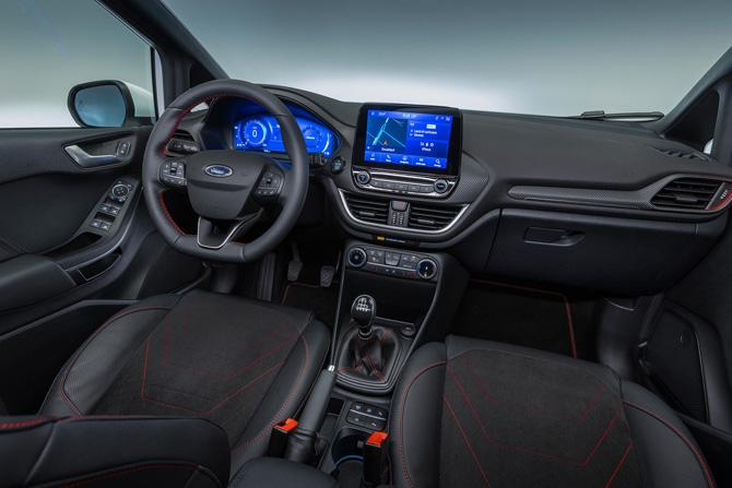 Yenilenen Fiesta Hibrit Versiyonu ile Tanıtıldı