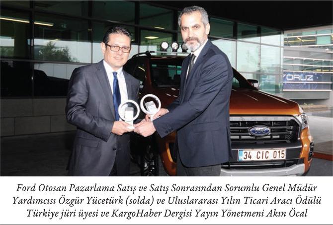 Uluslararası Yılın Ticari Aracı Ödülü Ford Otosan'da
