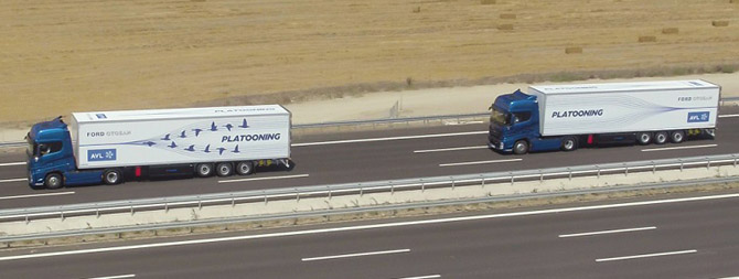 "Ford Otosan ve AVL ""Platooning"" Teknolojisi İle Otonom Sürüşü Test Etti"