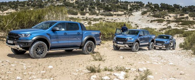 Ford'un Yırtıcısı Ranger Raptor Araziye Çıktı