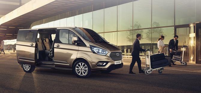 Ford Transit ve Custom Ailesini Yeniledi
