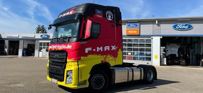Ford Trucks Avrupa'nın En Büyük Ağır Ticari Pazarı Almanya'da