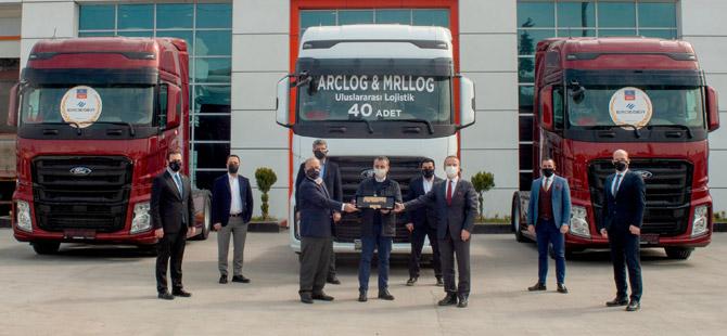 ARC Lojistik Filosunu 40 Adet F-MAX İle Genişletti