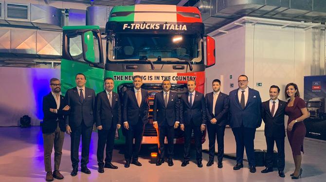 İspanya ve Portekiz'in Ardından Ford Trucks İtalya Pazarına Adım Atıyor