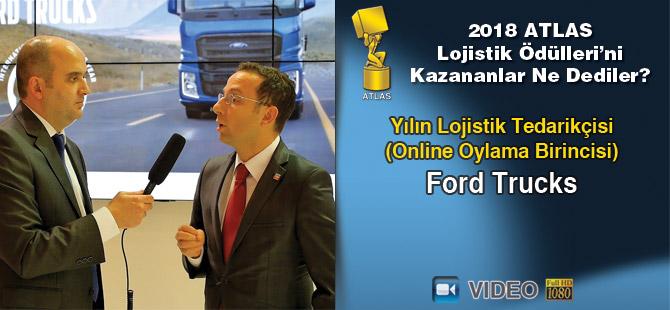 Lojistik Ödülleri 2018'i Kazananlar Ne Dediler? Ford Trucks (video)