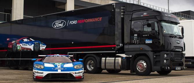 Ford Trucks Güç ve Performansı Motor Sporları Heyecanı İle Sunuyor