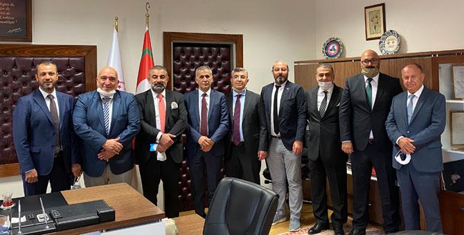 T.C.Ticaret Bakanlığı Teftiş Kurulu Başkanı Sayın Cumali SEMEĞİR ziyareti
