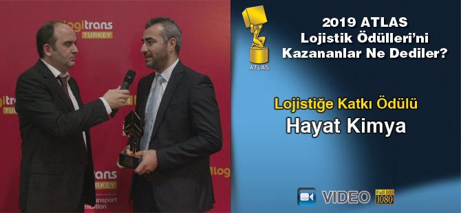 Lojistik Ödülleri 2019'u Kazananlar Ne Dediler? – Hayat Kimya (Video)