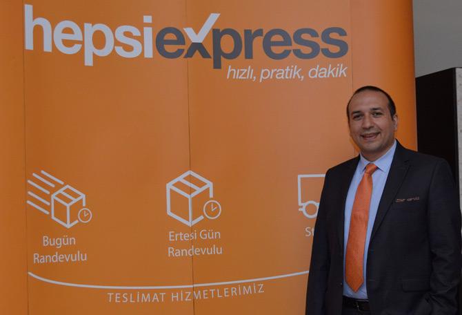 Hepsiexpress Genel Müdürü Umut Aytekin