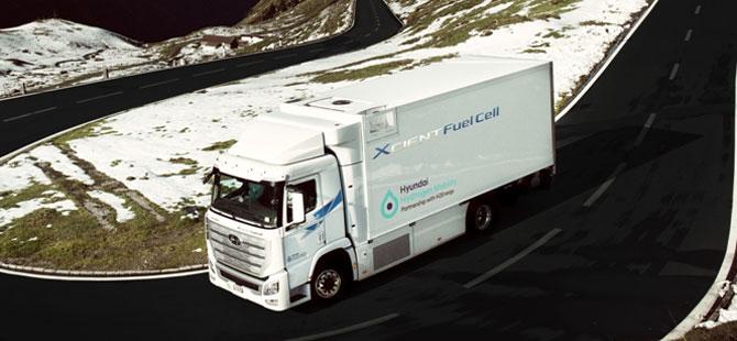 Hyundai Motor İlk Hidrojenli Kamyonları İsviçre'ye Teslim Etti