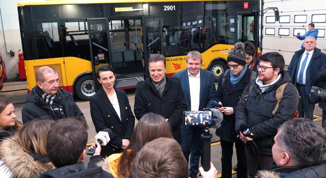 Isuzu Polonya'nın Lodz Şehrine 24 Adet Novociti Life Teslim Etti