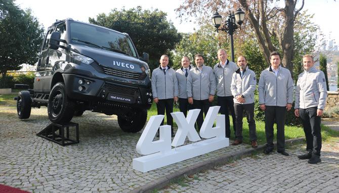Iveco Yeni Daily 4x4 Araçlarını Türkiye'de Tanıttı