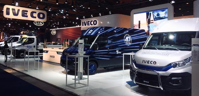 Iveco Brüksel Ticari Araç Fuarına Çevreci Araçlarıyla Katıldı