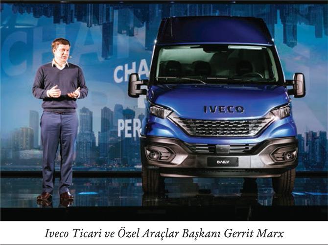 Iveco Ticari ve Özel Araçlar Başkanı olarak atanan Gerrit Marx