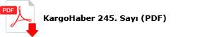 245. Sayımızın dijital versiyonu PDF formatında yayında