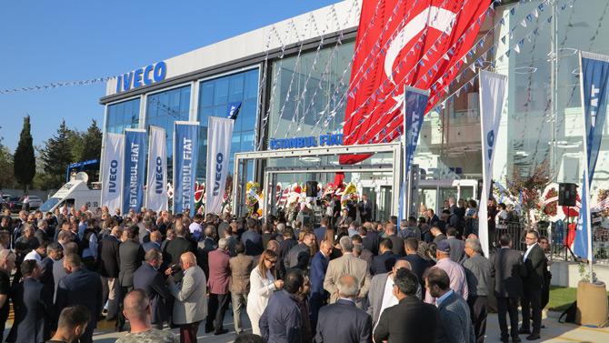 Iveco İstanbul'da Son Teknolojiye Sahip Tesisini Açtı