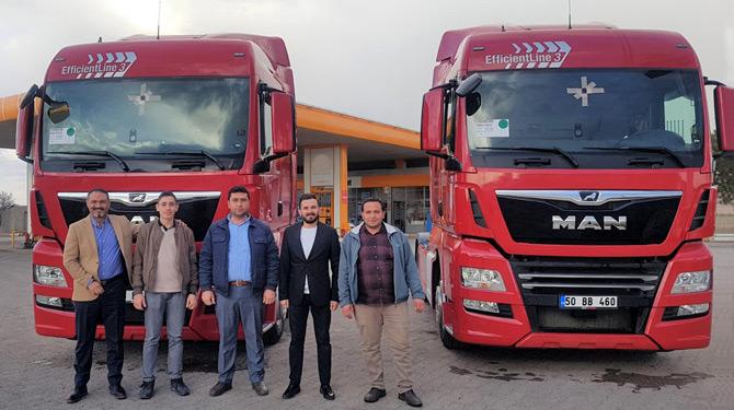 Türkmenler Nakliyat MAN'ı Tercih Etti