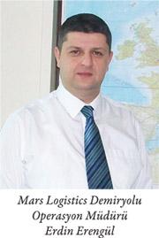 Mars Logistics Demiryolu Operasyon Müdürü Erdin Erengül