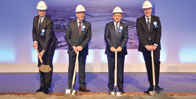 Mercedes'ten Aksaray Fabrikasına 113 milyon Avro'luk Yatırım