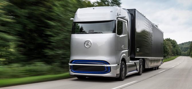Kamyon İnovasyon Ödülü Mercedes'e Verildi