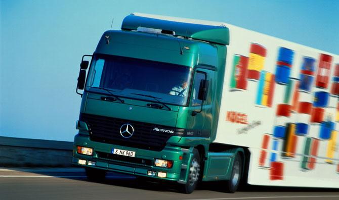 Mercedes-Benz Actros 25'inci Yaşını Kutluyor