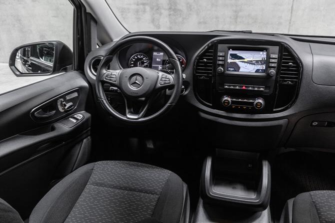Mercedes-Benz eVito Tourer'ı Tanıttı: Vito 2020'ye Yenilenerek Giriyor